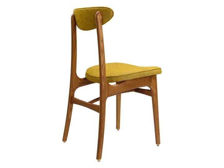 Krzesło 200-190 Loft Mustard, proj. R. T. Hałas Krzesło inspirowane Drewno Szerokość 45 cm Kolor Żółty Tapicerowane Tkanina Wysokość 46 cm Wysokość 83 cm Głębokość 52 cm Kategoria Krzesła kuchenne