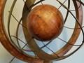 Globus, lata 70. Drewno Globusy Drewno