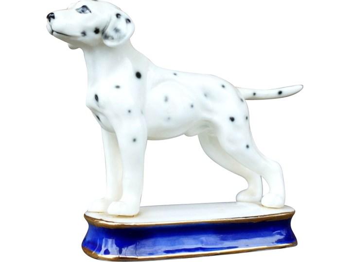 Porcelanowy pies, Francja, lata 60. Zwierzęta Ceramika Ceramika