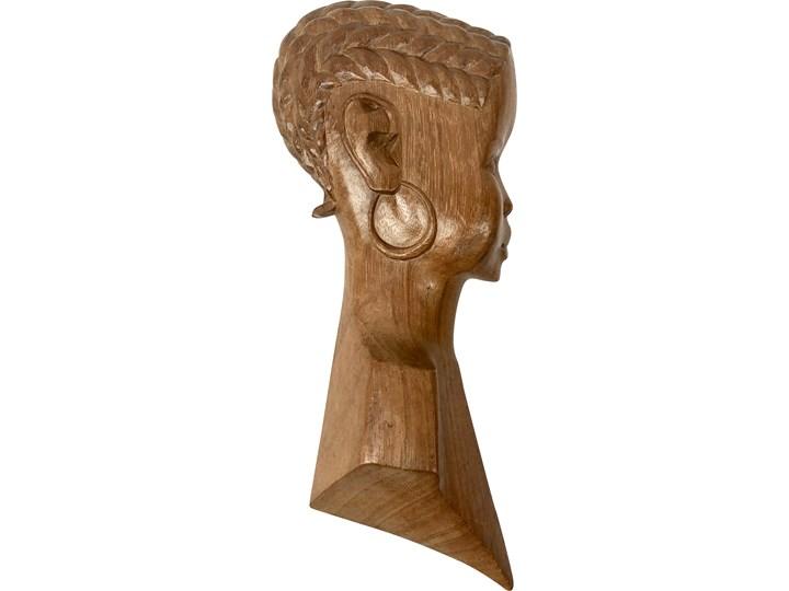 Tekowa płaskorzeźba, Afryka Północna, lata 60. Drewno Drewno