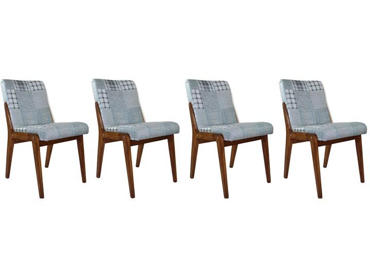 Komplet czterech krzeseł Aga, proj. J. Chierowski, lata 70.