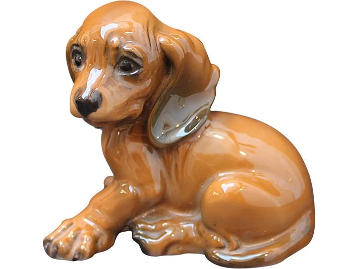 Porcelanowa figurka psa, Rosenthal, Niemcy, lata 60. Ceramika Ceramika