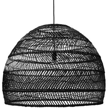 Wiklinowa lampa wisząca czarna L, HKliving