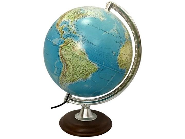 Podświetlany globus z lat 60. Metal Drewno Metal Globusy Drewno