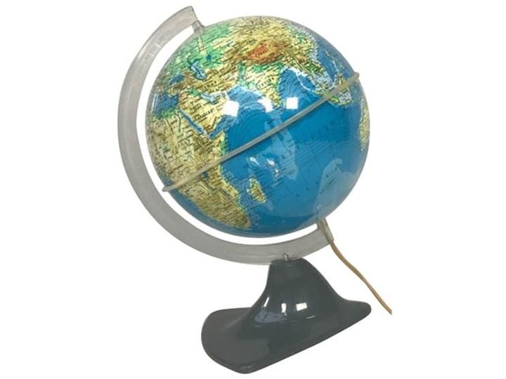 Globus podświetlany, lata 50. Globusy