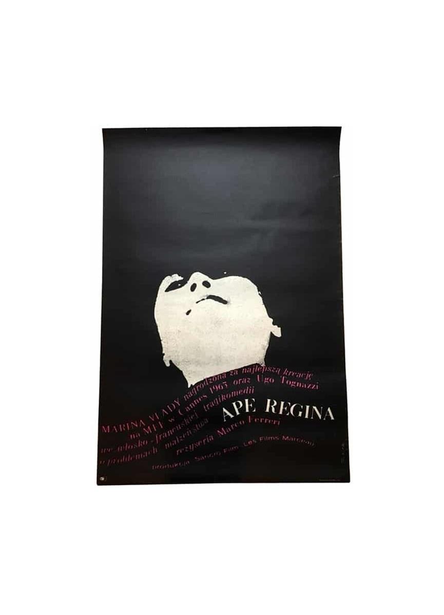 Plakat Do Filmu Ape Regina Aut B Zelek Lata 60