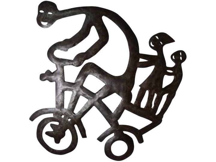 Metalowa płaskorzeźba, Niemcy, lata 60.
