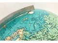 Globus podświetlany IRO Verlag, Niemcy, lata 70. Globusy Drewno Drewno