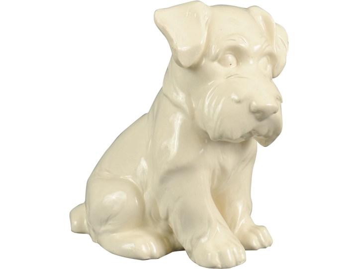 Ceramiczna figurka psa terriera, lata 30. Ceramika Ceramika