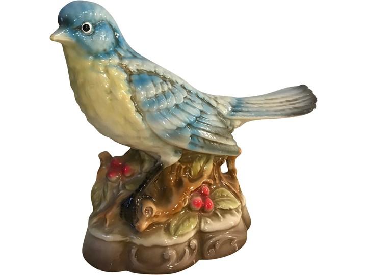 Porelanowa figurka pataka, Japonia, lata 60. Ptaki Ceramika Ceramika