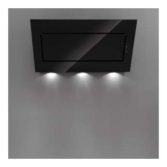 Okap przyścienny Falmec Quasar 60 szkło w kolorze czarnym