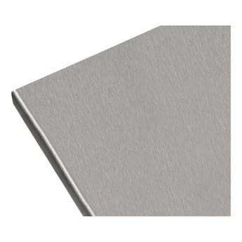 Blat laminowany Biuro Styl 60 x 2,8 x 305 cm aluminium