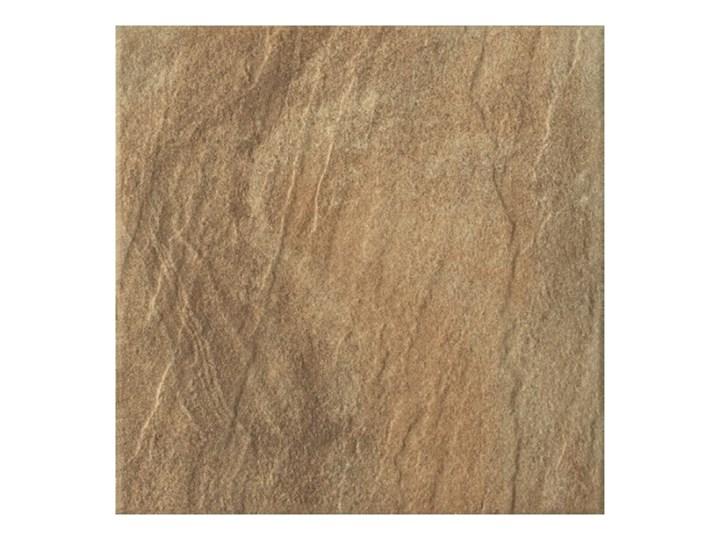 Gres szkliwiony Sohn Kwadro 40 x 40 cm brązowy 1,6 m2 Powierzchnia Polerowana Płytki tarasowe Kwadrat 40x40 cm Płytki podłogowe Wzór Kamień