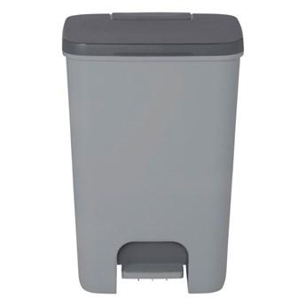Kosz na śmieci Cooke&Lewis plastikowy z pedałem 40 l szary