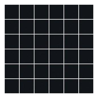 Mozaika prasowana Altea Paradyż 29,8 x 29,8 cm nero