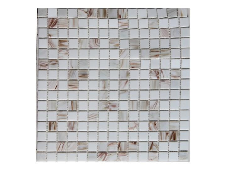 Mozaika szklana Colours 32,7 x 32,7 cm biała