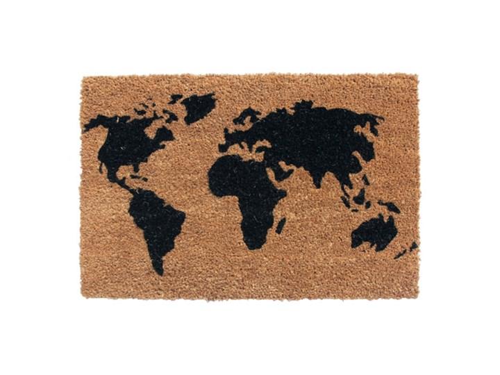 Wycieraczka Colours Map 40 x 60 cm Kategoria Wycieraczki Włókno kokosowe Kolor Brązowy