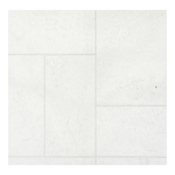 Wykładzina PCV Glanc 2 m białe kafle