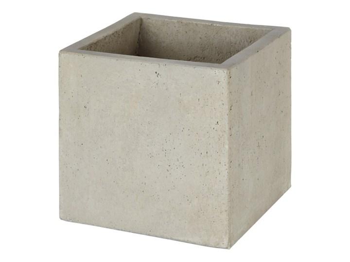 Donica Verve efekt cementu 30 cm szara