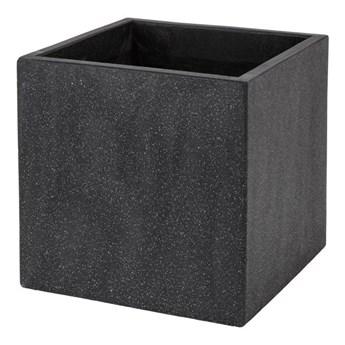 Donica Verve efekt cementu 40 cm antracyt