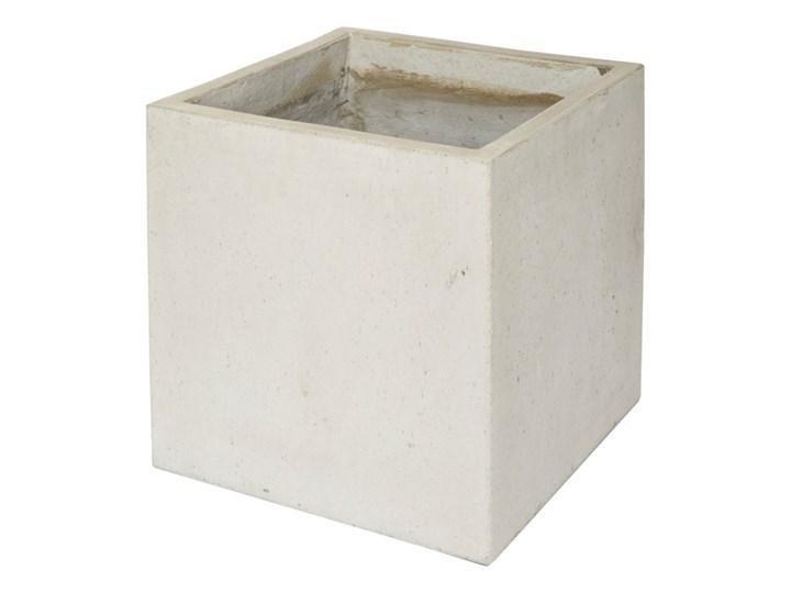 Donica Verve efekt cementu 40 cm szara