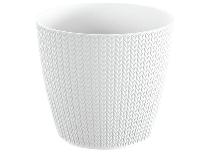 Doniczka Wheaty 21,8 cm biała