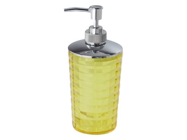 Dozownik do mydła Bori zielony Kategoria Mydelniczki i dozowniki Tworzywo sztuczne Dozowniki Plastik Kolor Żółty