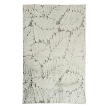 Dywan Softy 120 x 160 cm liście szary