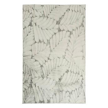 Dywan Softy 160 x 230 cm liście szary