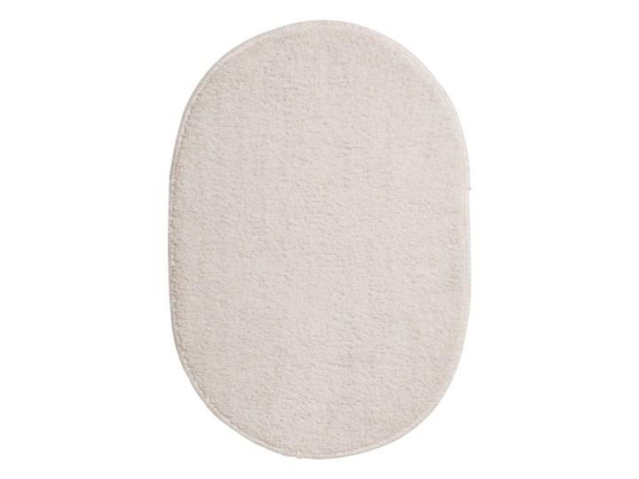 Dywanik łazienkowy Owalny 40x60 cm Kategoria Dywaniki łazienkowe Poliester Kolor Beżowy
