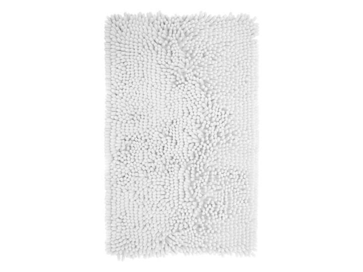 Dywanik łazienkowy Abava 50 x 80 cm biały Prostokątny 50x80 cm Poliester Kategoria Dywaniki łazienkowe