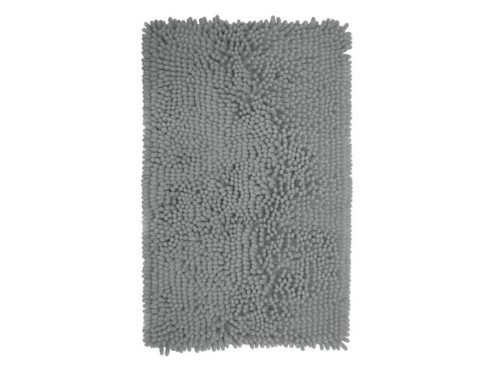 Dywanik łazienkowy Abava 50 x 80 cm srebrny Kategoria Dywaniki łazienkowe Poliester 50x80 cm Prostokątny Kolor Szary