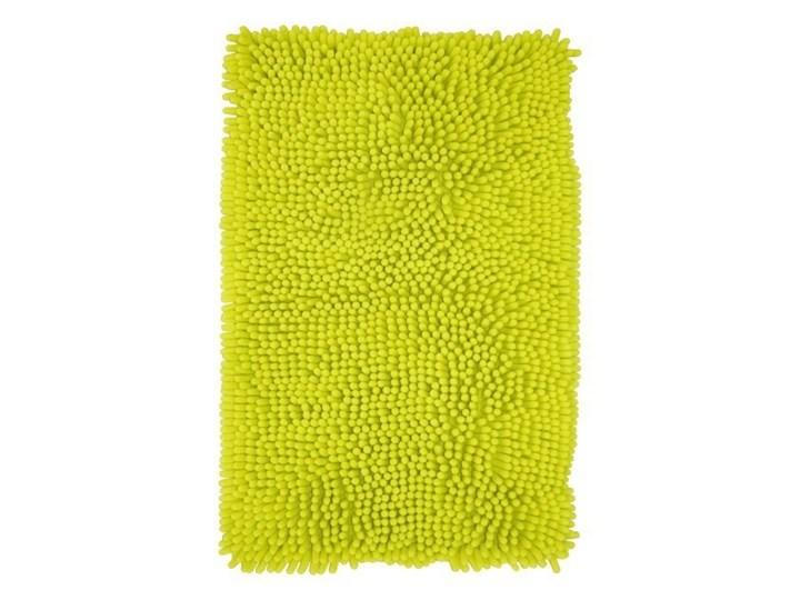 Dywanik łazienkowy Abava 50 x 80 cm zielony Prostokątny 50x80 cm Poliester Kategoria Dywaniki łazienkowe
