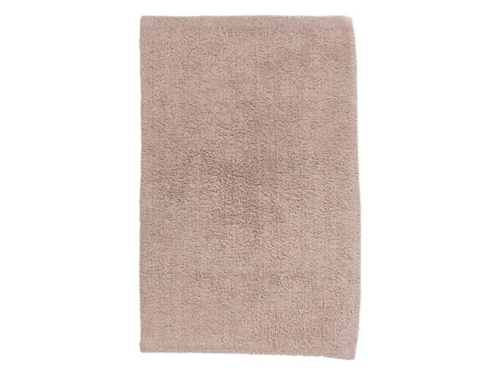 Dywanik łazienkowy bawełniany Diani 50 x 80 cm beżowy 50x80 cm Prostokątny Bawełna Kategoria Dywaniki łazienkowe