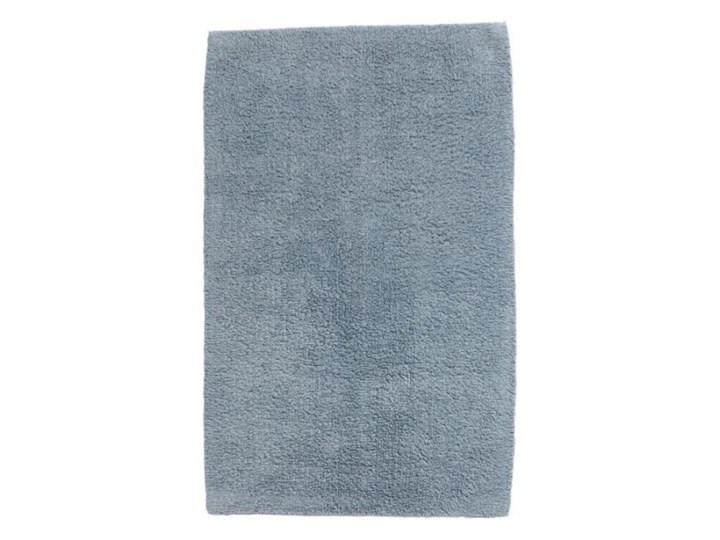Dywanik łazienkowy bawełniany Diani 50 x 80 cm niebieski Kategoria Dywaniki łazienkowe 50x80 cm Prostokątny Bawełna Kolor Szary
