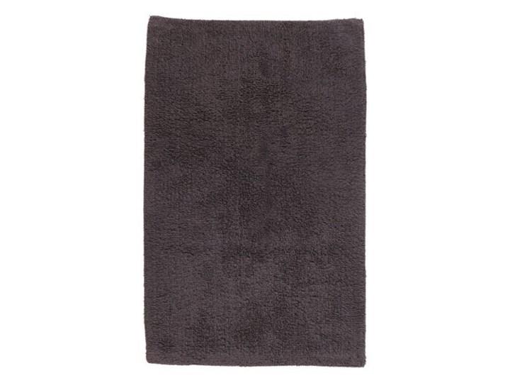 Dywanik łazienkowy bawełniany Diani 50 x 80 cm szary Kategoria Dywaniki łazienkowe 50x80 cm Prostokątny Bawełna Kolor Czarny