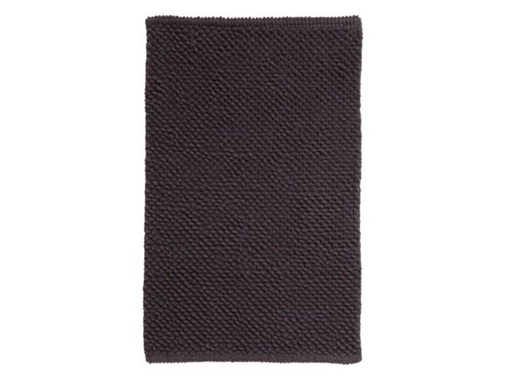 Dywanik łazienkowy Chanza bąbelki szary Kategoria Dywaniki łazienkowe 50x80 cm Bawełna Prostokątny Kolor Czarny