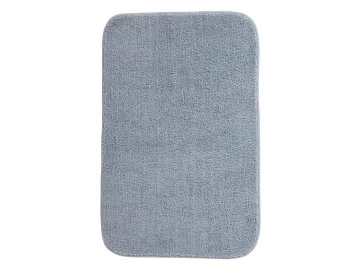 Dywanik łazienkowy Davoli 50 x 80 cm niebieski Poliester 50x80 cm Prostokątny Kategoria Dywaniki łazienkowe