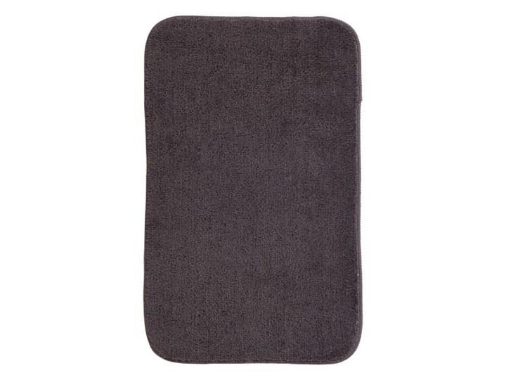Dywanik łazienkowy Davoli 50 x 80 cm szary Poliester Prostokątny 50x80 cm Kategoria Dywaniki łazienkowe