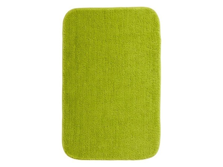 Dywanik łazienkowy Davoli 50 x 80 cm zielony Poliester 50x80 cm Prostokątny Kategoria Dywaniki łazienkowe