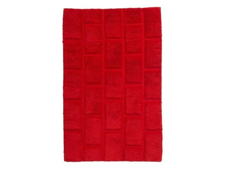 Dywanik łazienkowy Managua 60 x 90 cm czerwony 60x90 cm Prostokątny Kategoria Dywaniki łazienkowe