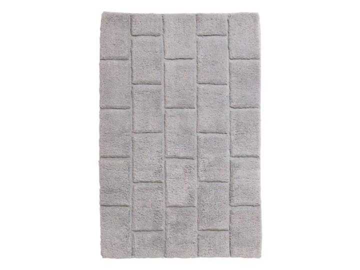 Dywanik łazienkowy Managua 60 x 90 cm srebrny Prostokątny 60x90 cm Kategoria Dywaniki łazienkowe