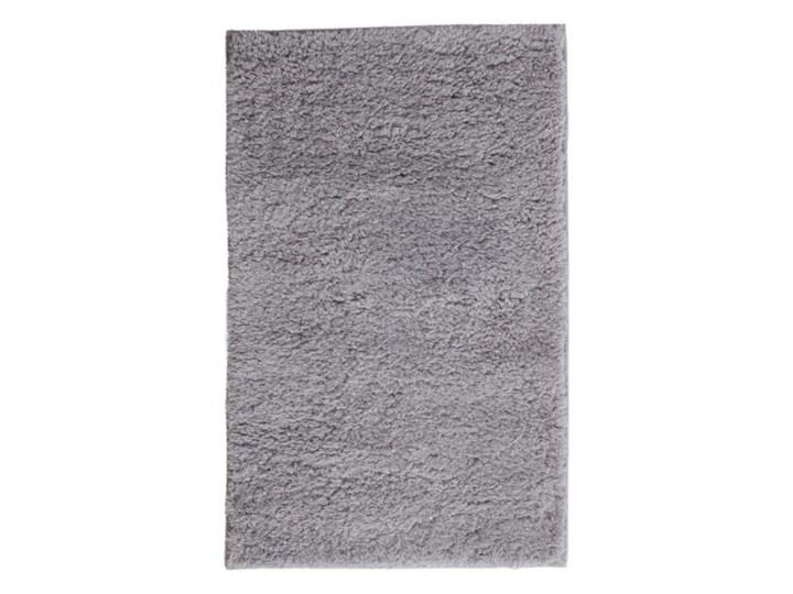 Dywanik łazienkowy Minicio 50 x 80 cm srebrny 50x80 cm Kategoria Dywaniki łazienkowe Prostokątny Poliester Kolor Szary