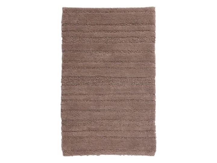 Dywanik łazienkowy Vorma taupe 50x80 cm Prostokątny Bawełna Kategoria Dywaniki łazienkowe