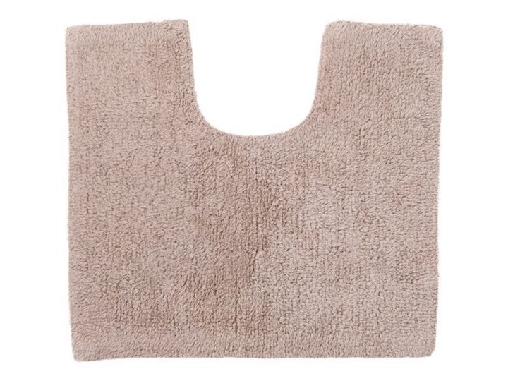 Dywanik pod WC Diani beżowy Bawełna 45x50 cm Nieregularny Kategoria Dywaniki łazienkowe