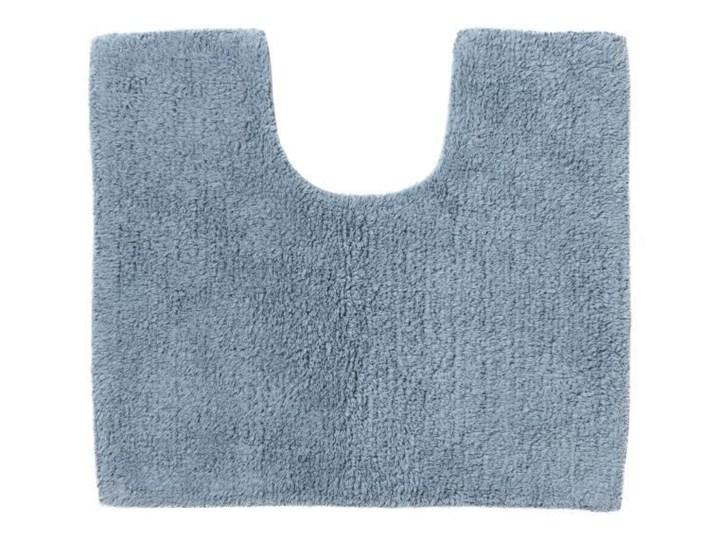 Dywanik pod WC Diani niebieski Nieregularny 45x50 cm Bawełna Kategoria Dywaniki łazienkowe