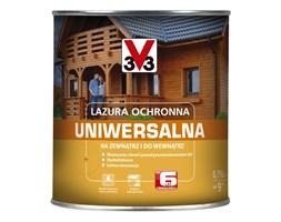 Lazura ochronna V33 6 lat heban 0,75 l