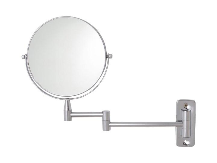 Lusterko okrągłe Hayle 22,5 x 31 cm przykręcane Lusterko kosmetyczne Ścienne Kategoria Lustra Styl Nowoczesny