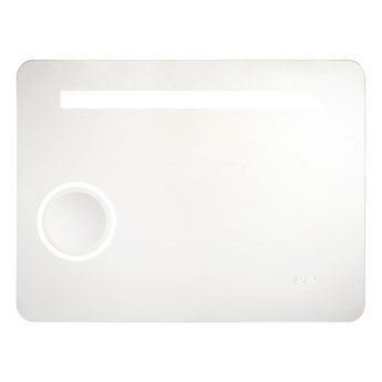 Lustro LED Cooke&Lewis Zoom Coppet 60 x 80 cm z zegarem i Bluetooth