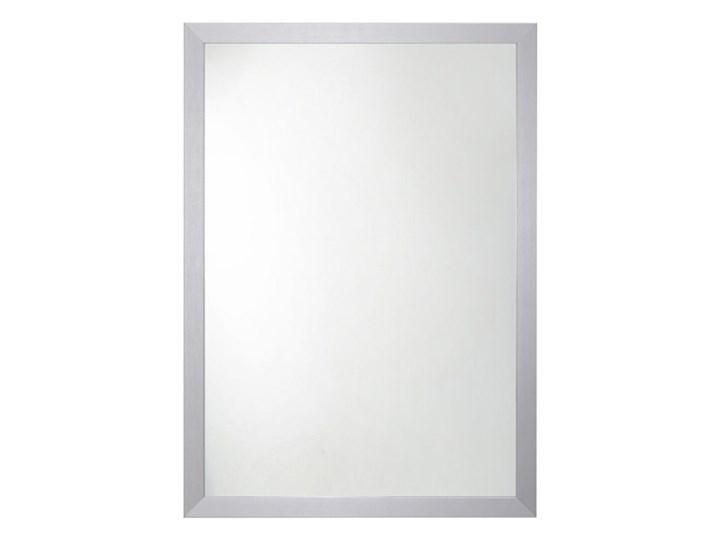 Lustro prostokątne 70 x 50 cm w ramie szare